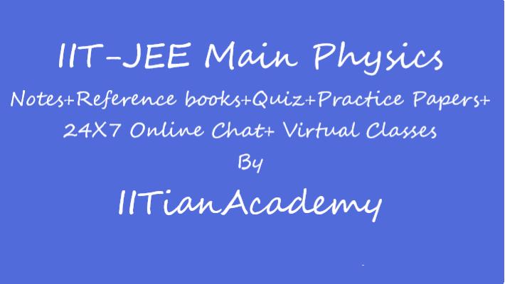 Iit Jee Main Physics Elearning App By Iitian